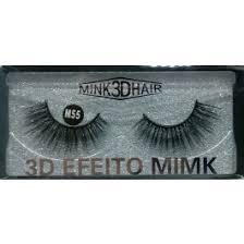 Cílios Postiços 3D Efeito Mimk M55 Real Love