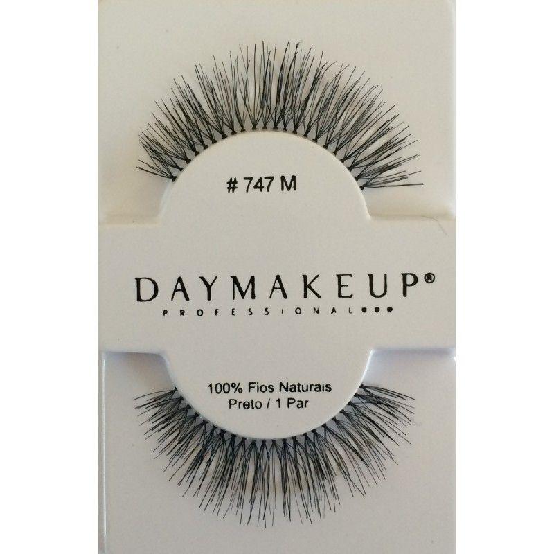 Cílios Postiços 747M Human Hair Day Makeup