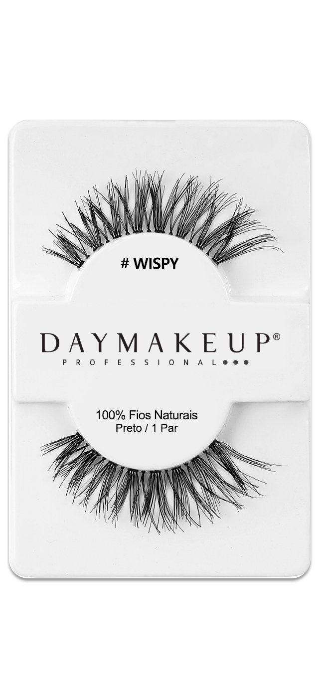 Cílios Postiços Wispy Human Hair Day Makeup
