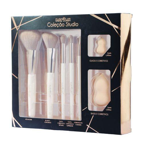 Kit de Pincéis Coleção Studio CS100 Macrilan