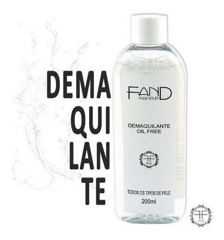 Demaquilante Oil Free Fand Makeup