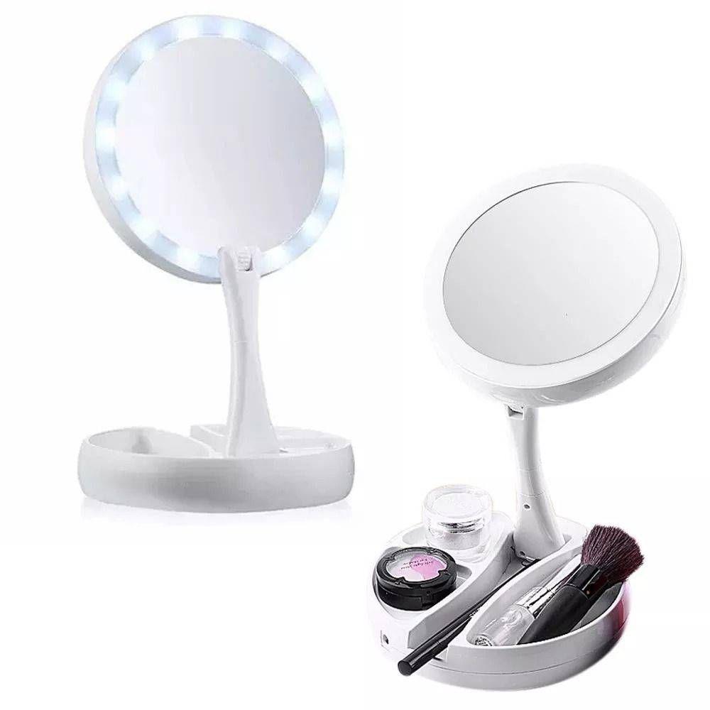 Espelho De Luz Led Dobrável L de Linda