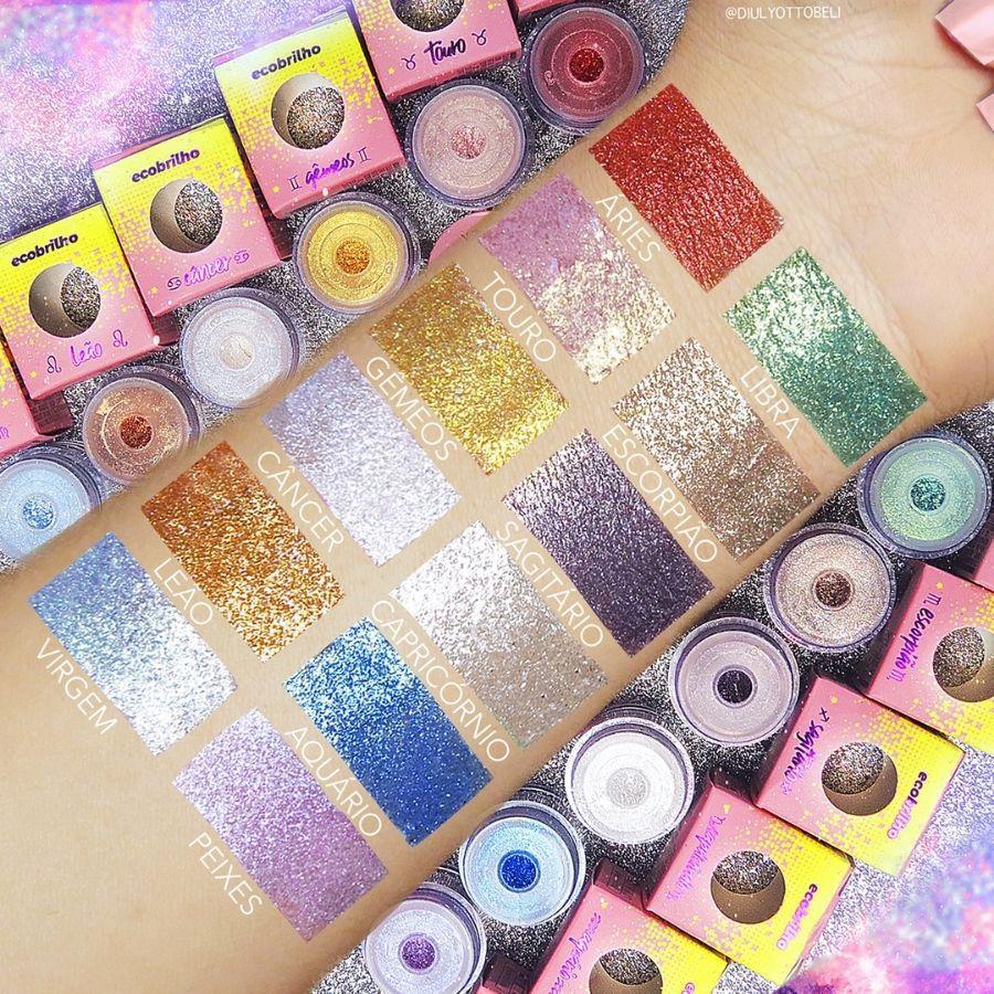 Glitter Crystals Pedras dos Signos Ecobrilho Vizzela