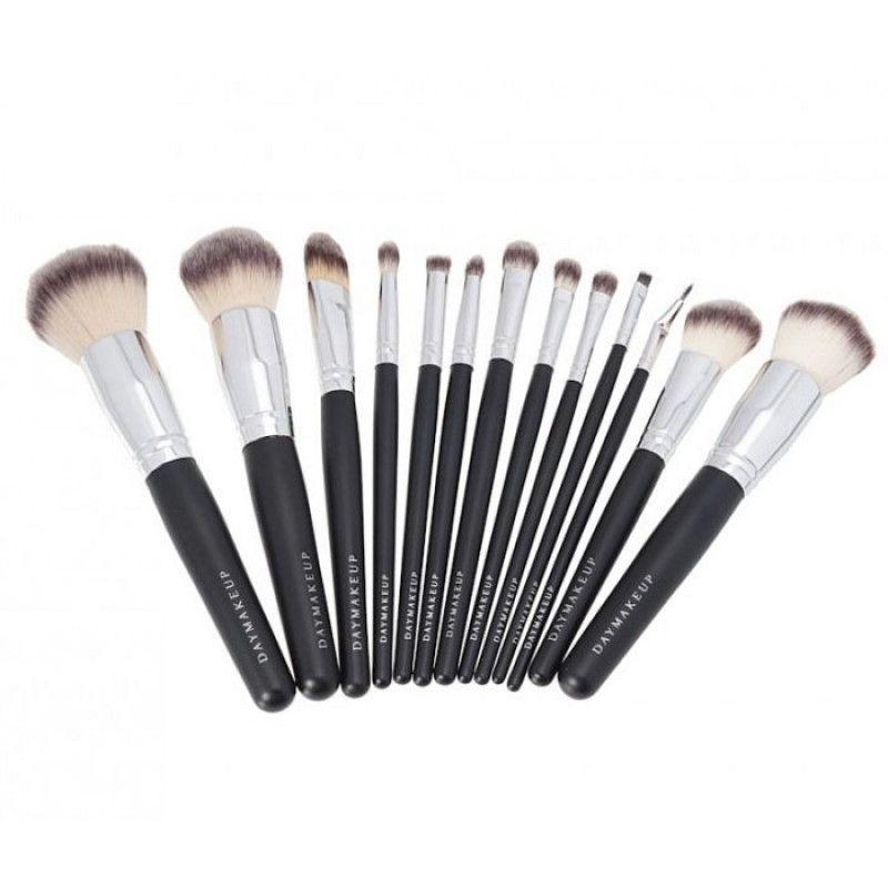 Kit 13 Pincéis Profissionais Day Makeup