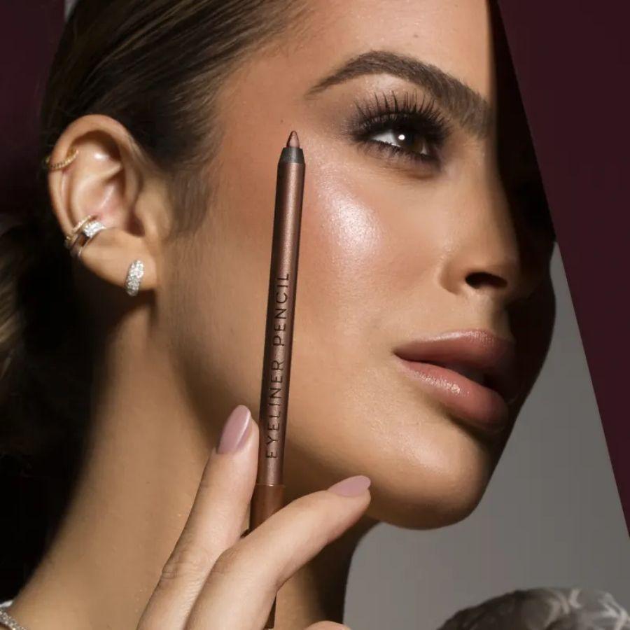 Lápis para Olhos Golden Brown Marrom Eyeliner Mariana Saad