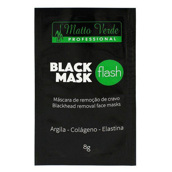 Máscara Facial Black Mask Flash Matto Verde