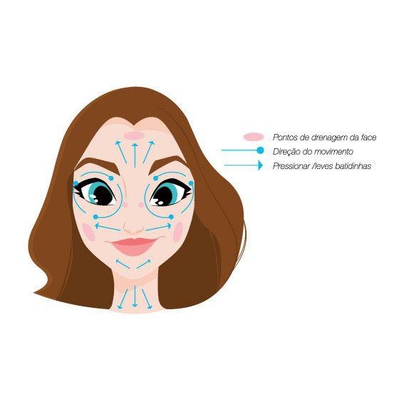 Máscara Facial Diamante Chata de Galocha