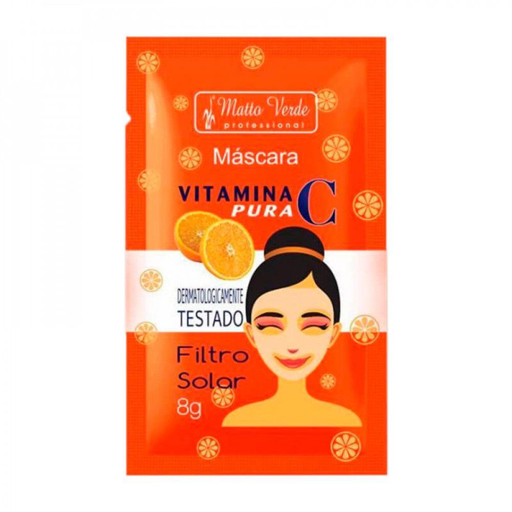 Máscara Facial Vitamina Matto Verde