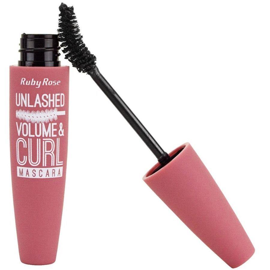 Máscara para Cílios Unlashed Volume e Curl Ruby Rose