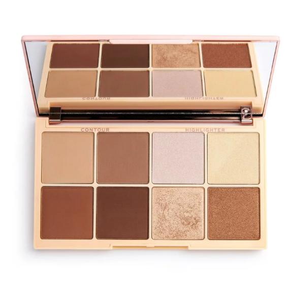 Paleta Contorno Iluminador Roxy Makeup Revolution
