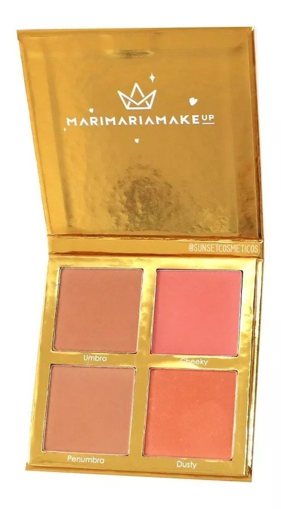 Paleta de Contorno e Blush Sun Kissed - Mari Maria