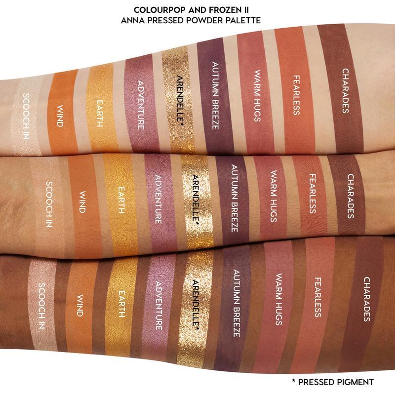 Paleta de Sombra Anna Frozen - Colourpop