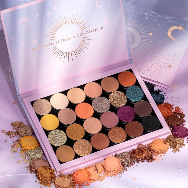 Paleta de Sombra Kathleen lights minor is astrology - Colourpop