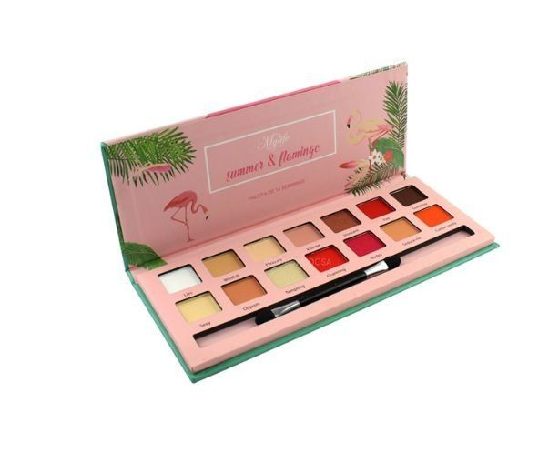 Paleta de Sombra Summer & Flamingo Cor 2 - MyLife