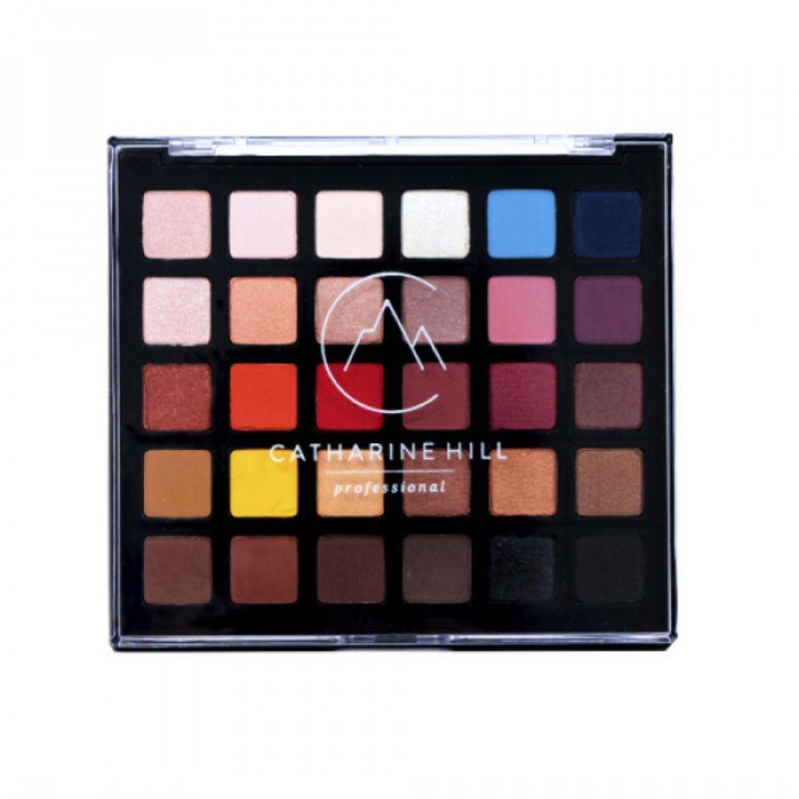 Paleta de Sombras 30 cores Catharine Hill Nova Versão