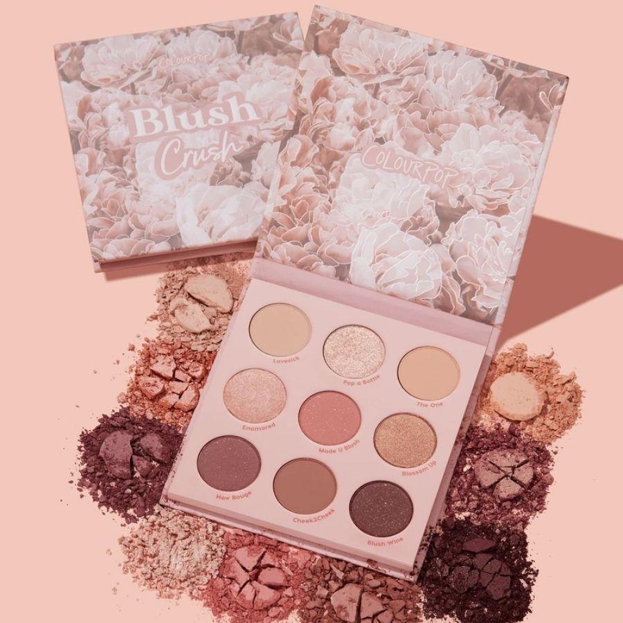 Paleta de Sombras Blush Crush Colourpop