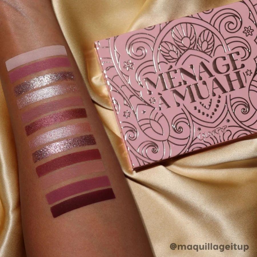 Paleta de Sombras Menage a Muah Colourpop