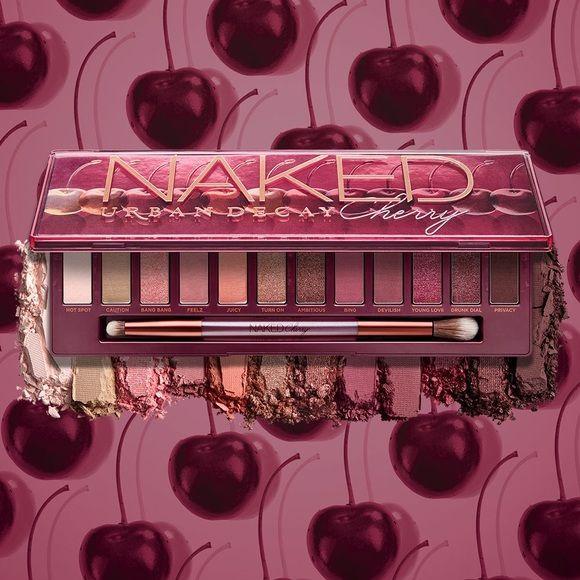 Paleta de Sombras Naked Cherry