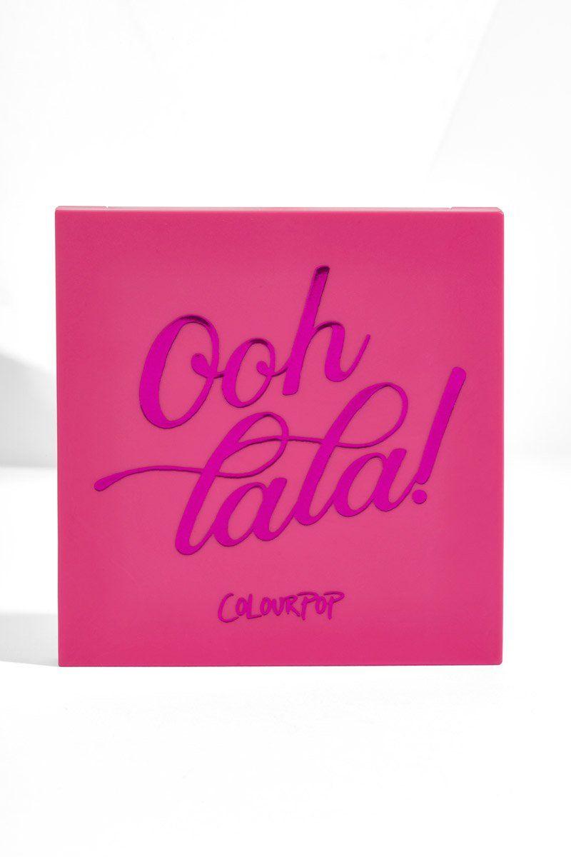 Paleta de Sombras Ooh La La! ColourPop