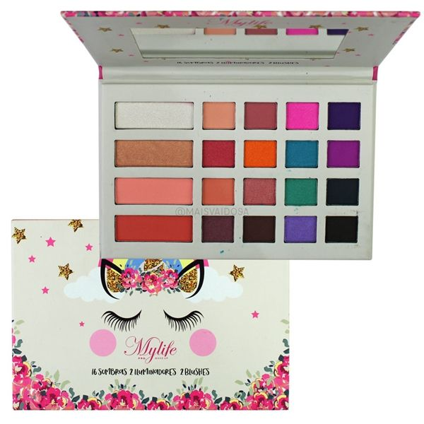 Paleta de Sombras Unicornio 01 MyLife