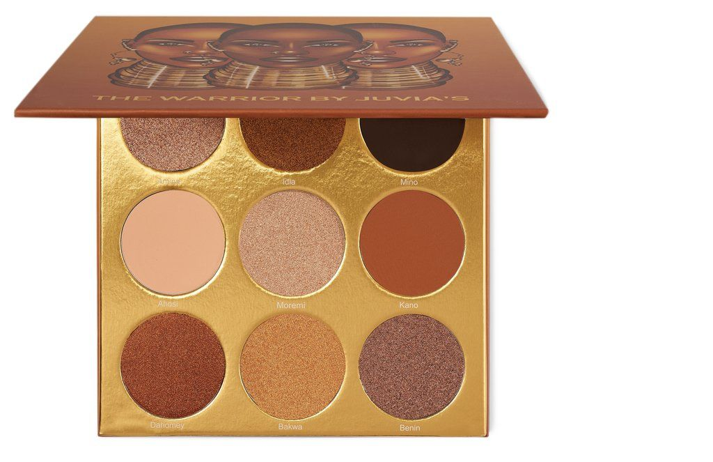 Paleta The Warrior Eyeshadow Juvia's Place