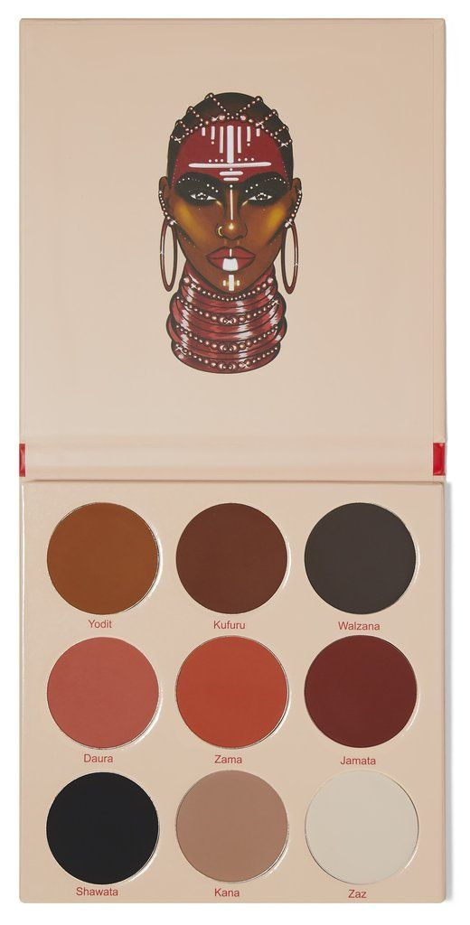Paleta The Warrior ll Eyeshadow Juvia's Place