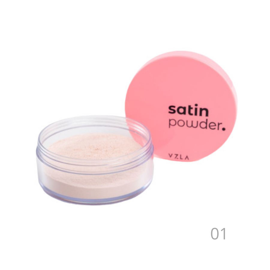 Pó Facial Satin Powder Vizzela