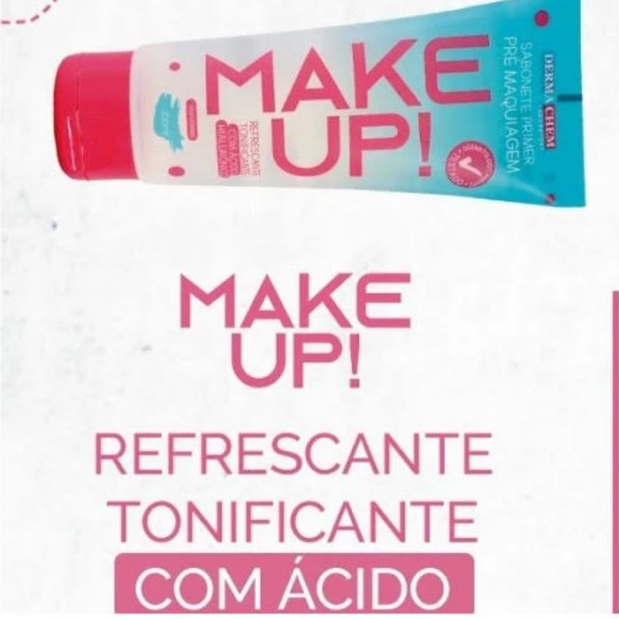 Sabonete Facial Pré Maquiagem Dermachem