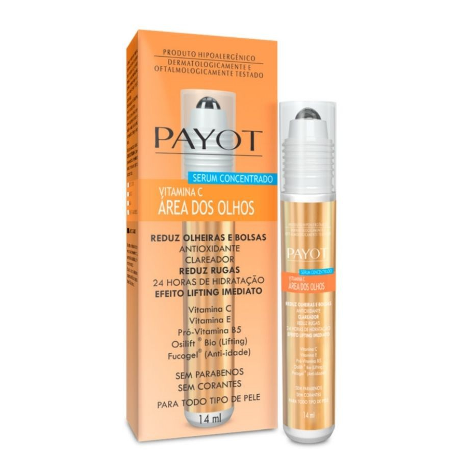 Vitamina C Anti-Idade Área dos Olhos Payot