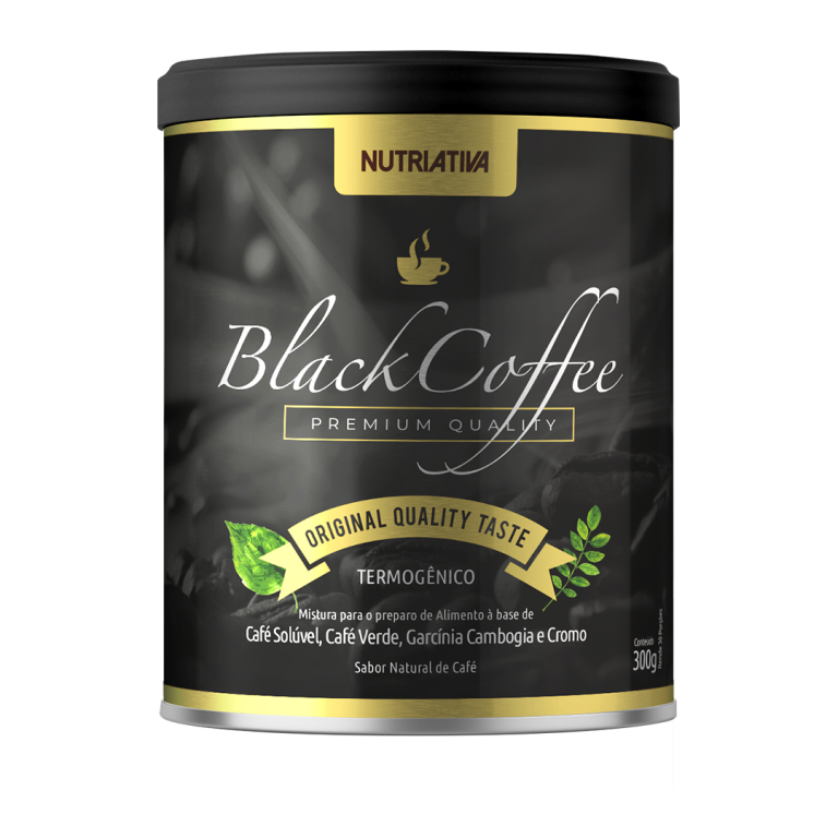 Black Coffee Termogênico 300g Nutriativa