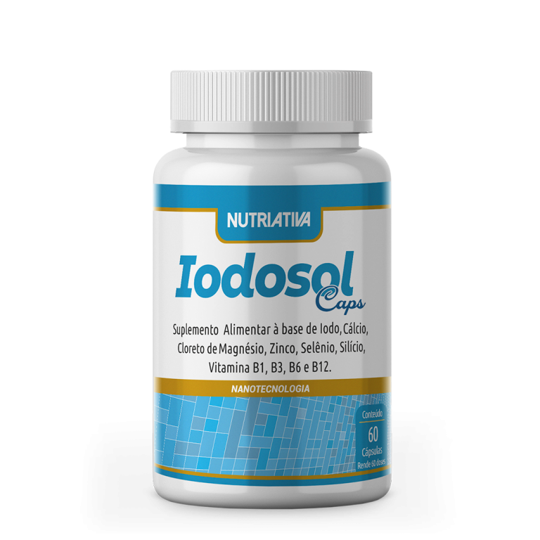 Iodosol 60 caps Nutriativa