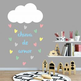 Adesivo Decorativo - Chuva de Amor