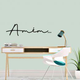 Adesivo Decorativo Frase - Amém