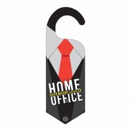 Aviso de Porta - Não Perturbe Home Office