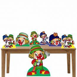 Kit 3 Decoração de Festa Totem Display Patati Patata-7 Peças