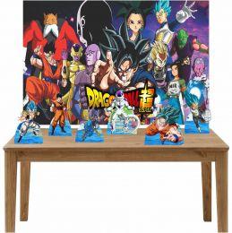 Kit 6 Displays de Mesa e Painel Dragon Ball