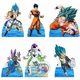 Kit 6 Displays de Mesa e Painel Dragon Ball