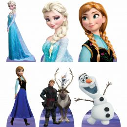 Kit 6 Displays de Mesa e Painel Frozen