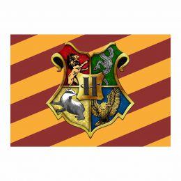 Kit 6 Displays de Mesa e Painel Harry Potter