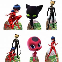 Kit 6 Displays de Mesa e Painel Ladybug