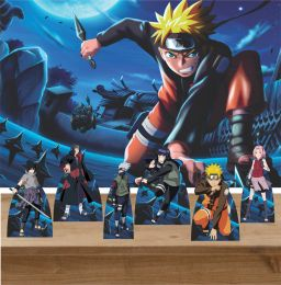 Kit 6 Displays de Mesa e Painel Naruto