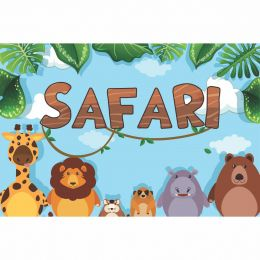 Kit 6 Displays de Mesa e Painel Safari