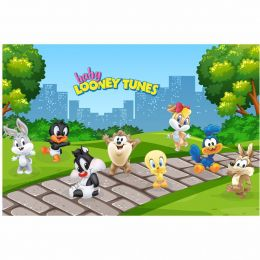 Kit 8 Displays de Mesa e Painel Baby Looney Tunes
