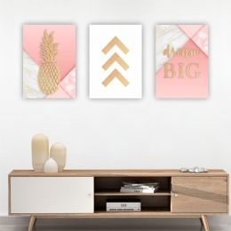 Kit 3 Placas Decorativas Dream Big