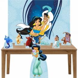 Kit Decoração de Festa Totem Display 8 peças Jasmine