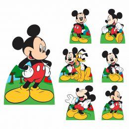 Kit Decoração de Festa Totem Display 8 peças Mickey Mouse