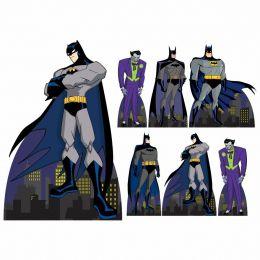 Kit Decoração de Festa Totem Display Batman - 7 Peças