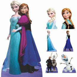 Kit Decoração de Festa Totem Display Frozen - 7 Peças