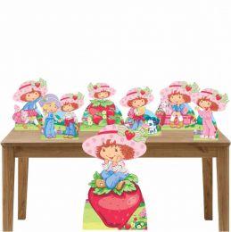 Kit Decoração de Festa Totem Display Moranguinho-7 Peças