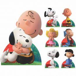 Kit Decoração Festa Totem Display 8 peças Snoopy